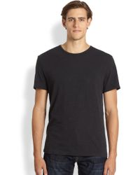 Rag & Bone Cotton Slub Tee - Lyst