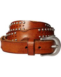 Asos Leather Belt with Vintage Studs - Lyst