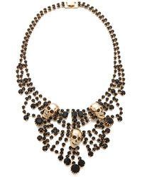 Adia Kibur - Skull Chandelier Necklace - Lyst