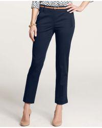 Ann Taylor Slim Stretch Ankle Pants - Lyst