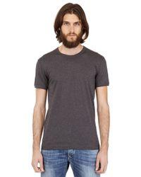 Dolce & Gabbana Logo Plaque Cotton Jersey T-Shirt - Lyst