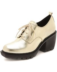 Opening Ceremony Grunge Oxford Booties - Lyst