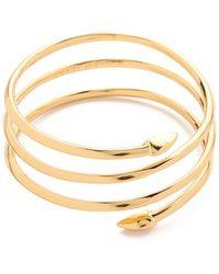 Rachel Zoe - Bear Claw Coil Bracelet - Lyst