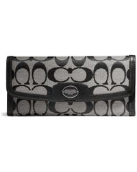 Coach Legacy Soft Wallet in Signature Fabric - Lyst