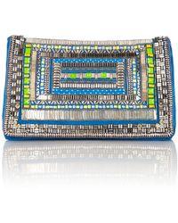 Matthew Williamson Fully Embellished Clutch Bag - Lyst