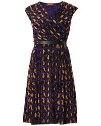 Max Mara Studio Black Galea Dress - Lyst