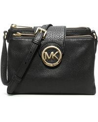 MICHAEL Michael Kors Large Fulton Crossbody Bag - Lyst