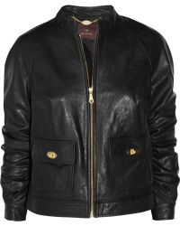 Mulberry - Bayswater Leather Biker Jacket - Lyst