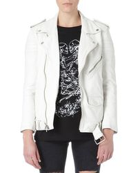 BLK DNM Leather Biker Jacket - Lyst