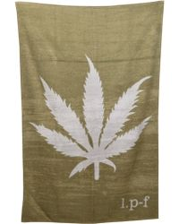 Lucien Pellat Finet - Leaf Beach Towel - Lyst