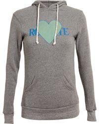Rodarte 3d Heart Motif Hooded Sweatshirt - Lyst