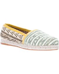 Cobra Society Green Molly Espadrille - Lyst