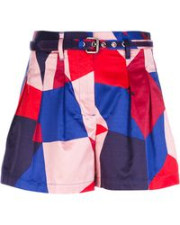 Marc By Marc Jacobs Printed Shorts - Lyst