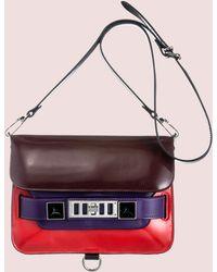 Proenza Schouler Ps11 Mini Classic Colorblock - Lyst