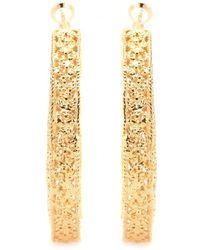 Isharya - Goldplated Hoop Earrings - Lyst