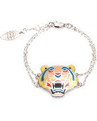 KENZO - Sterling Silver Bracelet - Lyst