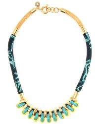 Marc By Marc Jacobs Multi Woven Bolt Necklace - Lyst