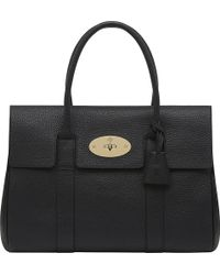 Mulberry Bayswater Soft Grain Leather Handbag - Lyst