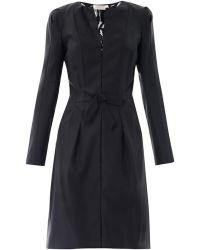 Nina Ricci Lace Back Tuxedo Dress - Lyst