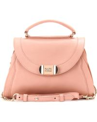 See By Chloé Mina Leather Shoulder Bag - Lyst
