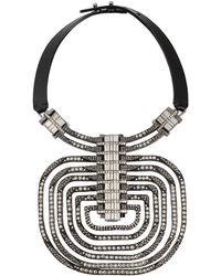 Lanvin - Dedale Collar Necklace - Lyst