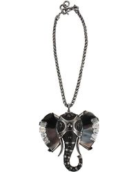 Lanvin - Embellished Elephant Choker - Lyst