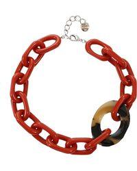 Pono - Resin Oval Link Choker - Lyst