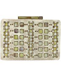 R & Y Augousti | Shagreen Shell Tile Minaudiere | Lyst