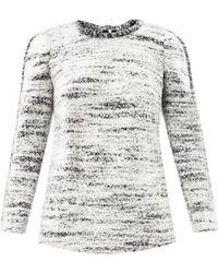 Isabel Marant Ivana Boiled Wool Sweater - Lyst