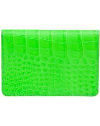 Jean Rousseau - Alligator Leather Wallet - Lyst