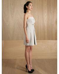 Preen By Thornton Bregazzi Aqua Dress - Lyst