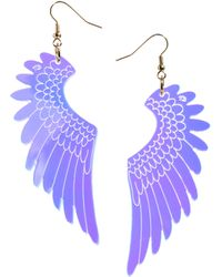 Tatty Devine - Exclusive To Asos Pegasus Large Drop Earrings - Lyst
