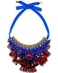 Matthew Williamson - Opulent Beaded Necklace - Lyst
