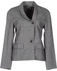 B Store Blazer gray - Lyst
