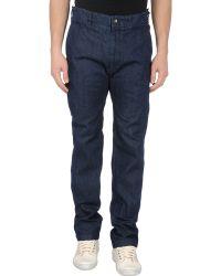 Engineered Garments - Denim Trousers - Lyst