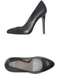 Versace Closedtoe Slipons - Lyst