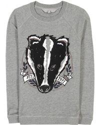 Mulberry Badger Sweatshirt gray - Lyst