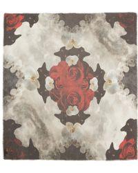 Athena Procopiou - Multicolour Cheshire Cat Print Scarf - Lyst