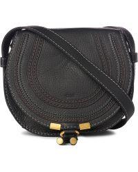 Chloé Marcie Small Saddle Bag - Lyst