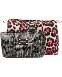Kenneth Cole Reaction - Two Piece Cosmetic Bag Set - Lyst