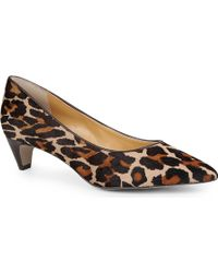 Nine West Fanesa Ponyskin Courts - Lyst