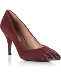 Pied A Terre Alford Pointed Single Sole Court Shoes - Lyst