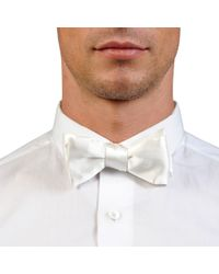 Title Of Work Satin Bow Tie - Lyst