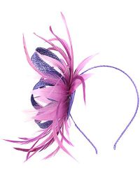 Alexon - Pink and Purple Feather Explosion Fascinator - Lyst