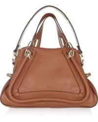 Chloé The Paraty Medium Leather Shoulder Bag - Lyst