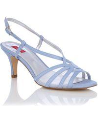 Jacques Vert - Cornflower Mesh Slingback Shoes - Lyst