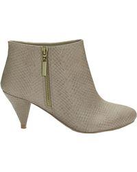 Jane Norman Low Heel Boot - Lyst