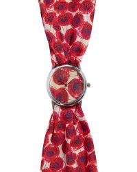 Liberty - Small Xanthe Sunbeam Print Knot Watch - Lyst
