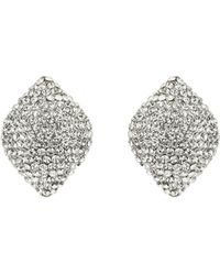 Mikey - Raised Square Earrings - Lyst