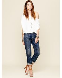 Bliss and Mischief - Conjure Embroidered Mid-rise Straight-leg Jeans - Lyst